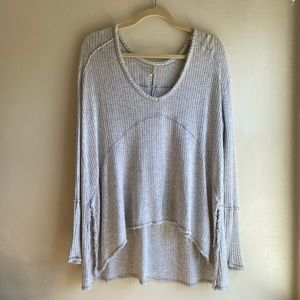 Free People Threaded and Thrased Light Thermal